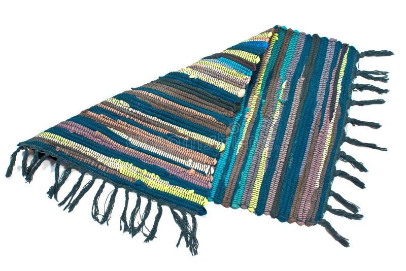 Kleurrijk klein tapijt royalty-vrije stock afbeelding