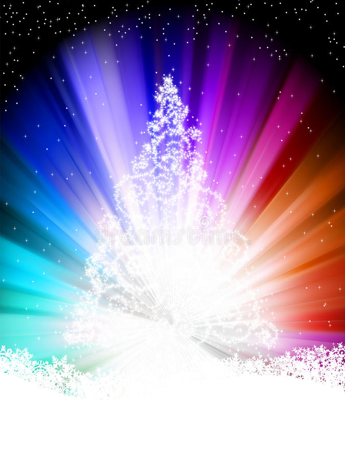 Kleurrijk malplaatje, met sterren. EPS 8 vector illustratie