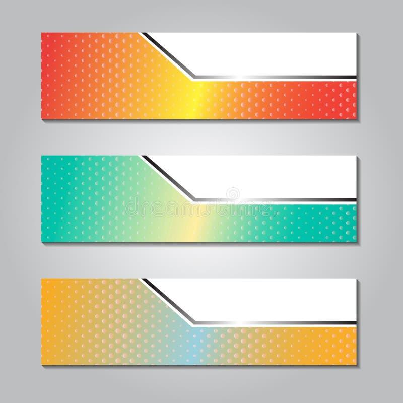 kleurrijk modern tekstvakje malplaatje voor de grafische technologie van de websitecomputer en Internet, aantallen vector illustratie