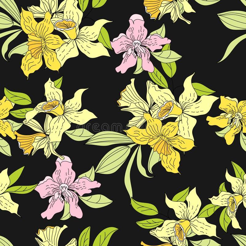 Kleurrijk naadloos patroon vector illustratie