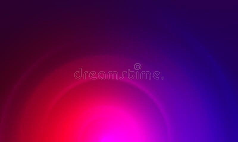 Kleurrijk onduidelijk beeld abstract vectorontwerp als achtergrond, kleurrijke vage in de schaduw gestelde achtergrond, levendige royalty-vrije illustratie