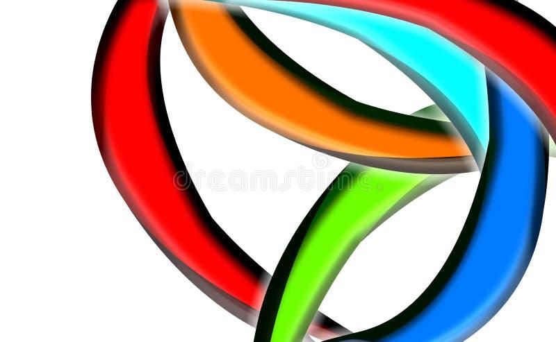 Kleurrijk ontwerp als achtergrond stock afbeeldingen