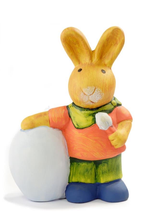 Kleurrijk Pasen konijntje royalty-vrije stock foto's