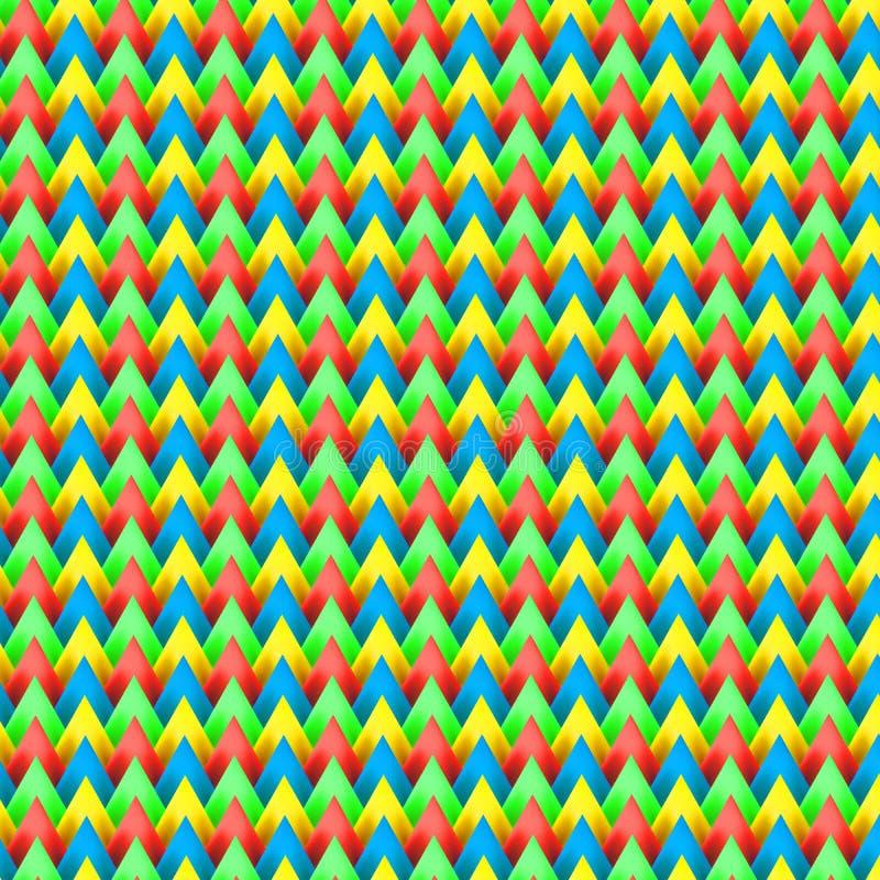 Kleurrijk patroon backpacker stock foto's