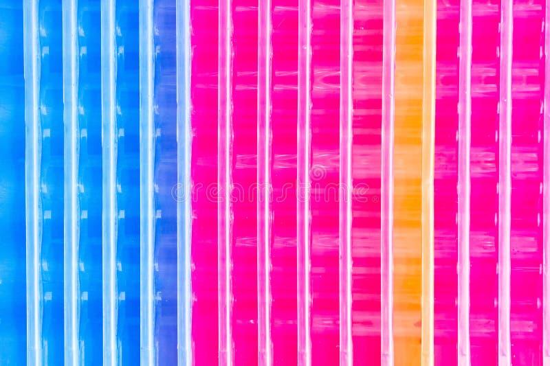 Kleurrijk plastiek stock afbeelding