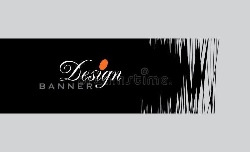 Kleurrijk promotiebannerontwerp, vectorillustratie vector illustratie