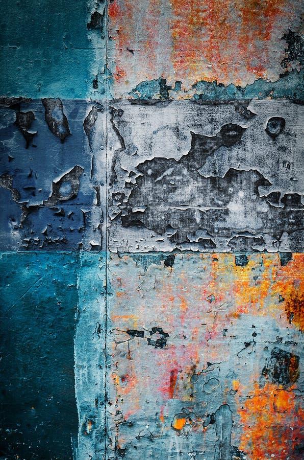 Kleurrijk Rusty Art 3 royalty-vrije stock fotografie