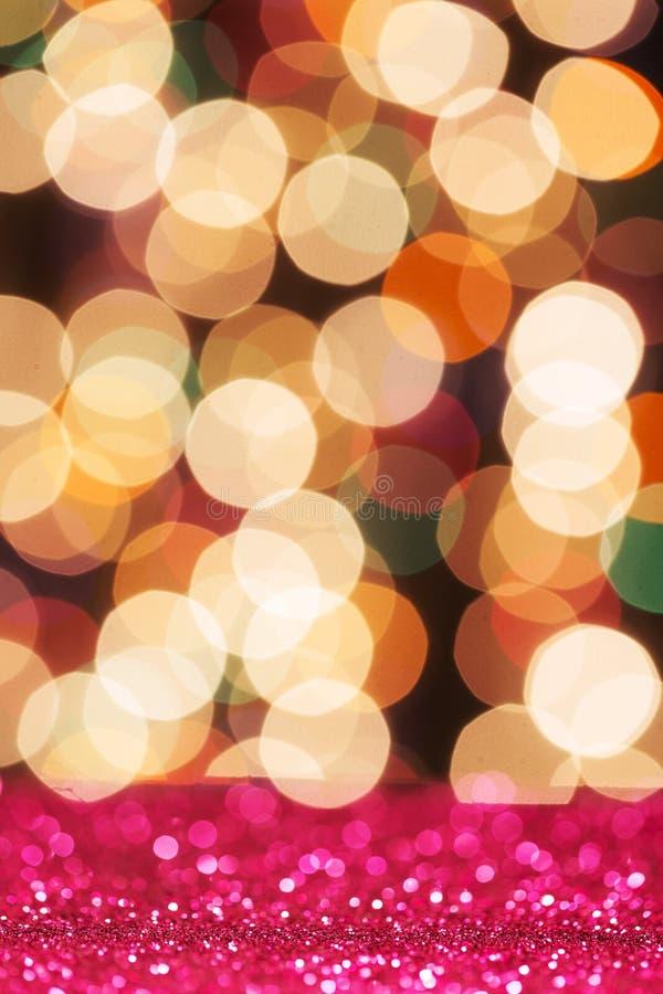 Kleurrijk schitter licht royalty-vrije stock foto