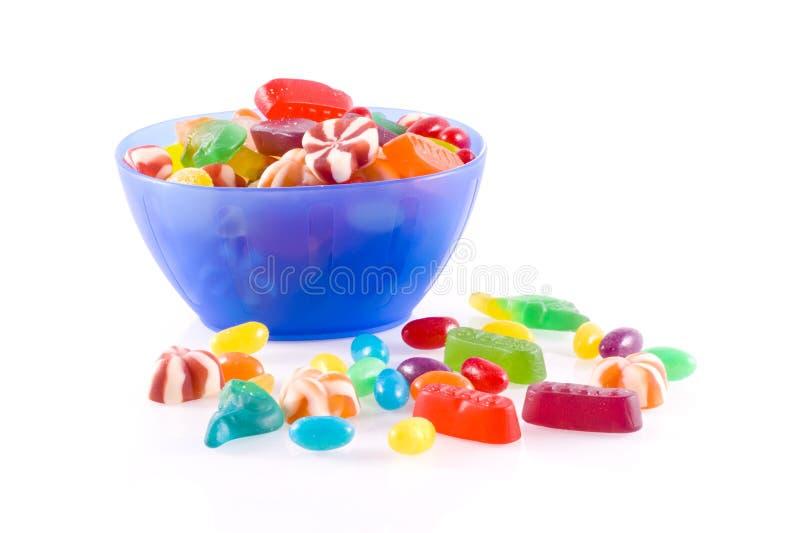 Kleurrijk suikergoed. stock foto