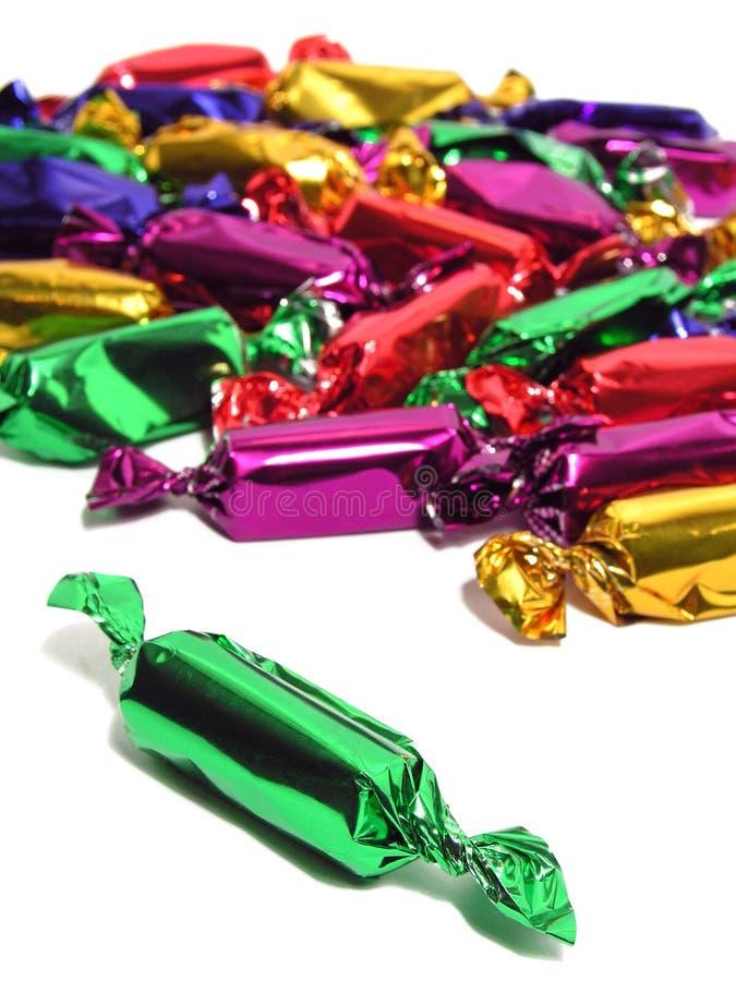 Kleurrijk suikergoed stock foto's