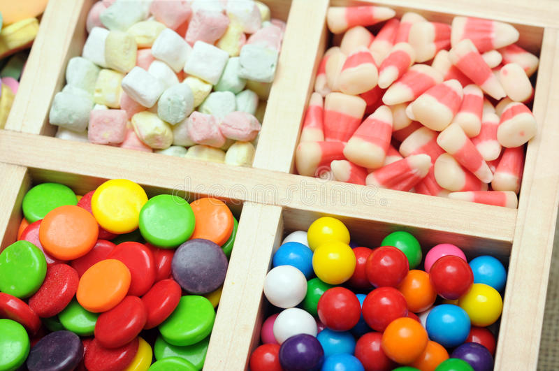 Download Kleurrijk suikergoed stock foto. Afbeelding bestaande uit graan - 29511362