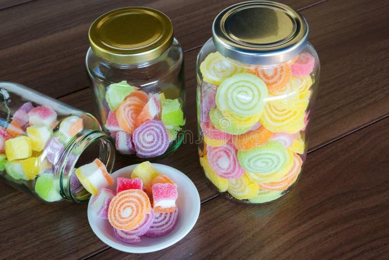 Kleurrijk Suikergoed voor kind royalty-vrije stock afbeelding