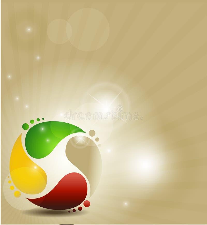 Kleurrijk symbool