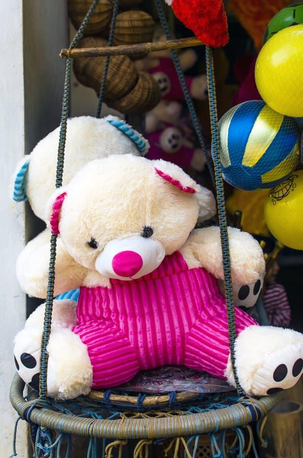Kleurrijk Teddy en Speelgoed royalty-vrije stock afbeeldingen