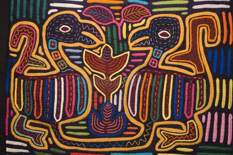 Kleurrijk textielontwerp. royalty-vrije stock afbeelding