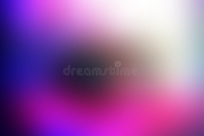 Kleurrijk vaag in de schaduw gesteld behang als achtergrond levendige kleuren vectorillustratie royalty-vrije illustratie