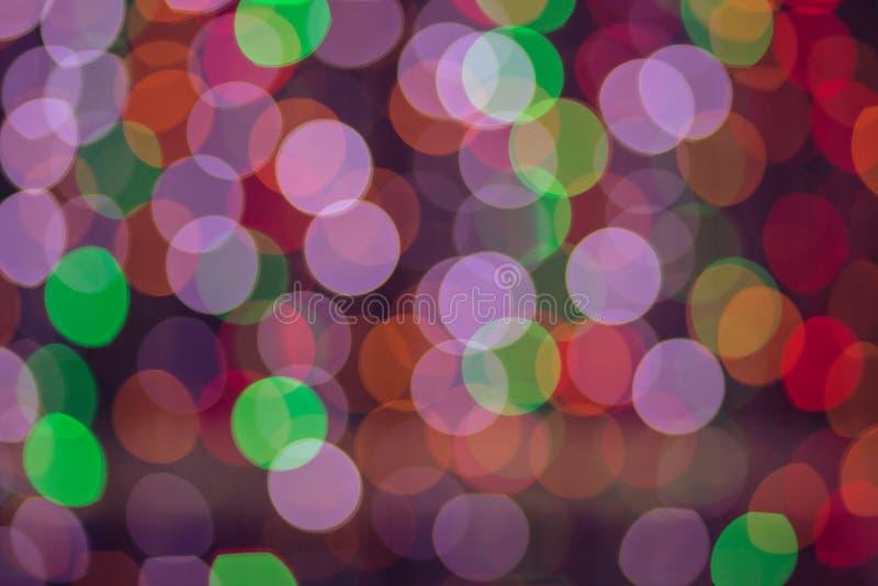 Kleurrijk van Bokeh 6 vector illustratie