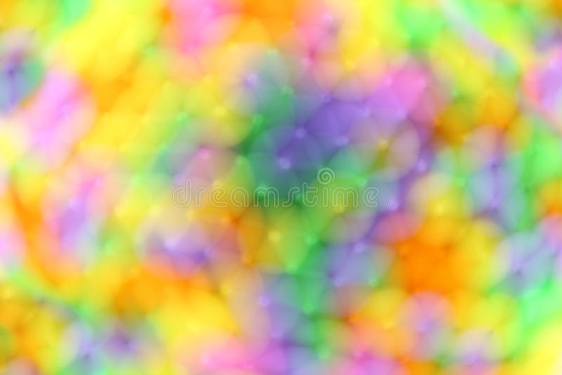 Kleurrijk van onduidelijk beeld abstracte achtergrond stock foto