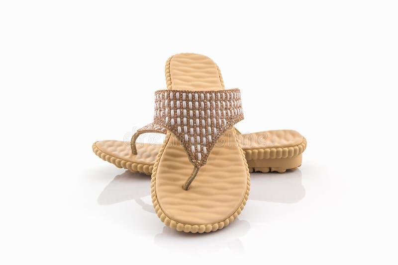 Kleurrijk van Sandals-schoenen royalty-vrije stock foto