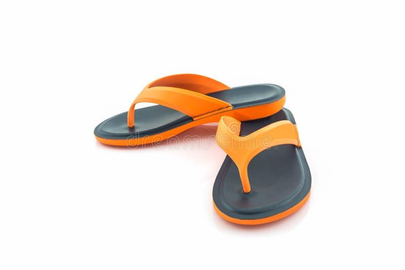 Kleurrijk van Sandals-schoenen stock afbeeldingen