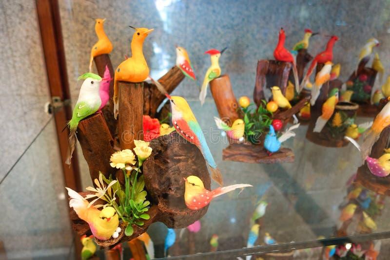 Kleurrijk van valse vogels royalty-vrije stock foto