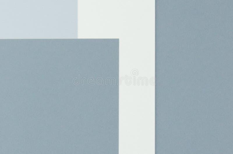 Kleurrijk van zachte grijze en blauwe document achtergrond royalty-vrije stock fotografie