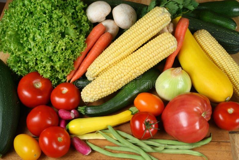 Kleurrijk voedsel royalty-vrije stock afbeelding