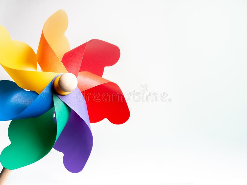 Kleurrijk Vuurrad stock fotografie
