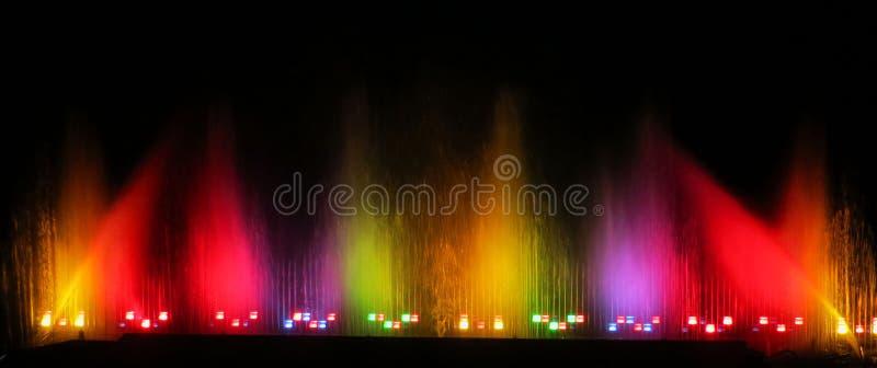 Kleurrijk water stock afbeeldingen