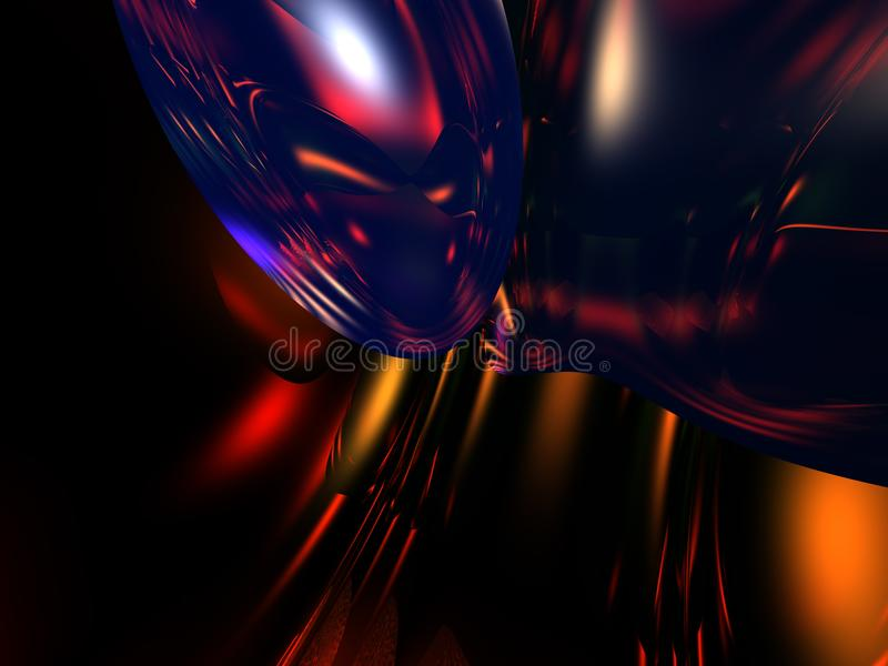 Kleurrijke 3D Abstracte Backgroun stock foto