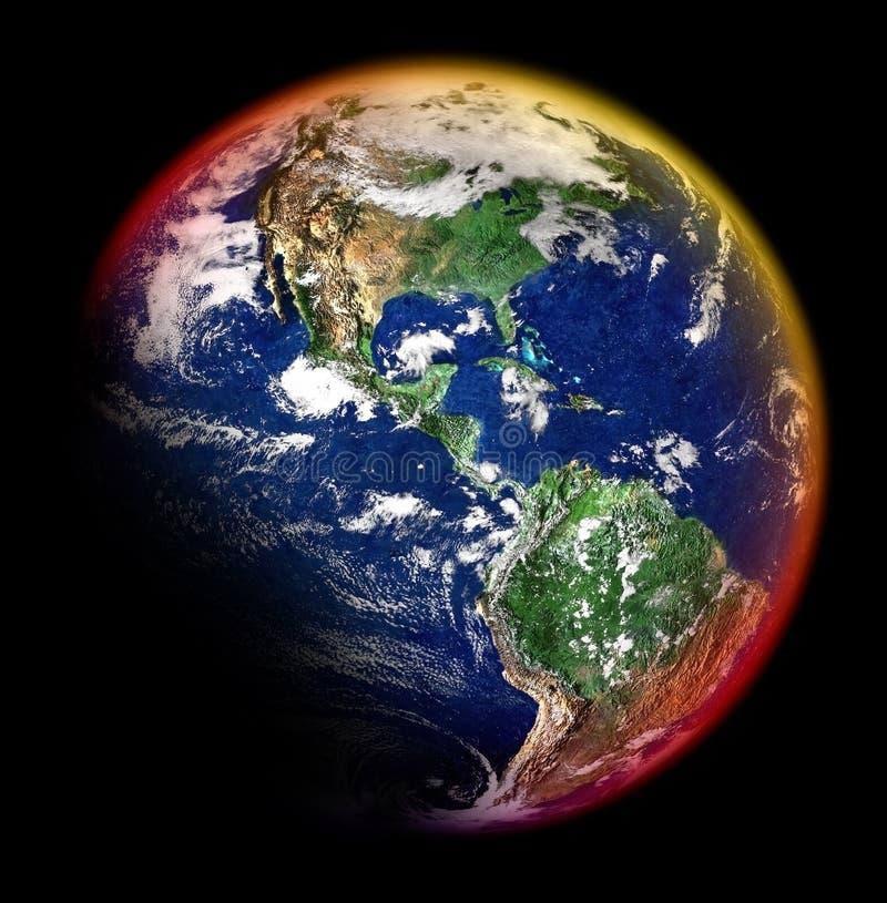 Kleurrijke aarde stock foto