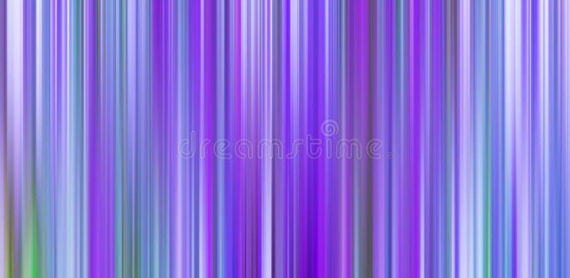 Kleurrijke abstracte achtergrond in purper, violet, blauw, groen en wit stock illustratie
