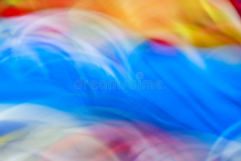 Kleurrijke abstracte bewegings lichte levendige kleur vage achtergrond royalty-vrije stock fotografie