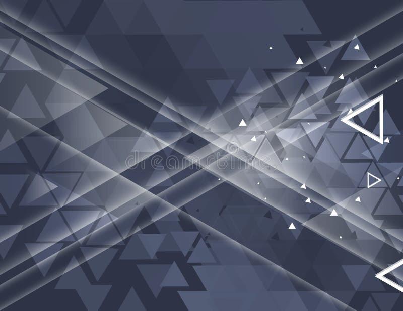 Kleurrijke abstracte geometrische achtergrond voor ontwerp royalty-vrije illustratie