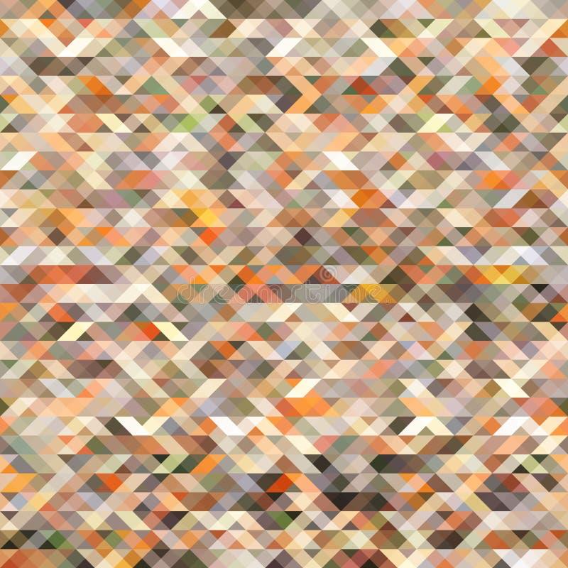 Kleurrijke abstracte geometrische naadloze patroonachtergrond stock illustratie