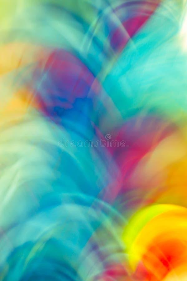 Kleurrijke abstracte lichte levendige kleur vage achtergrond wijnoogst royalty-vrije stock afbeelding