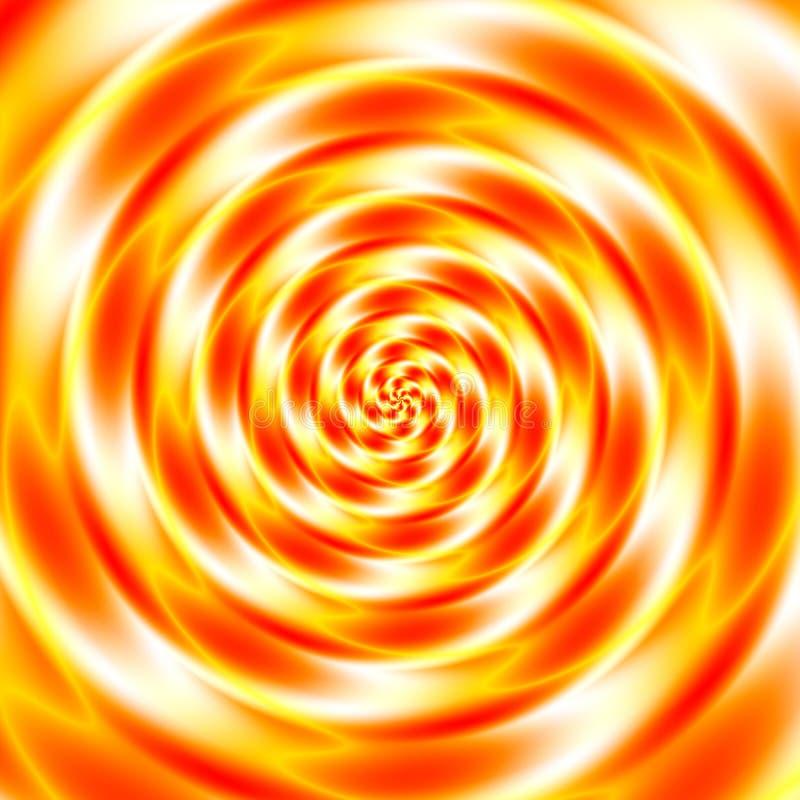 Kleurrijke abstracte psychotunnel stock illustratie