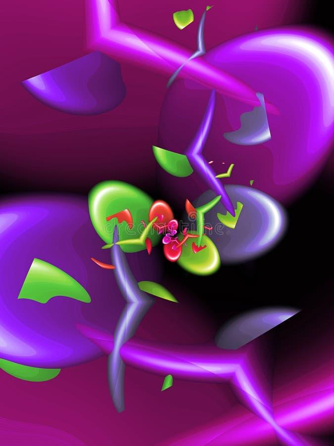 Kleurrijke abstracte vormen vector illustratie