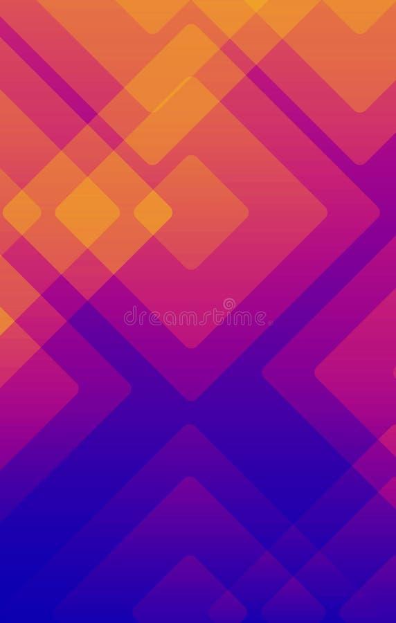 Kleurrijke achtergrond abstracte of diverse ontwerpkunstwerken, adreskaartjes stock illustratie