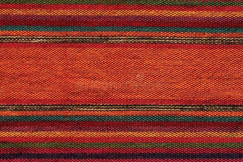 Kleurrijke Andestextiel royalty-vrije stock foto