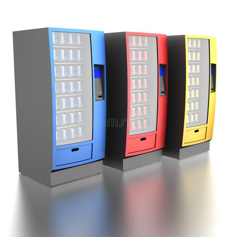 Kleurrijke automaten vector illustratie