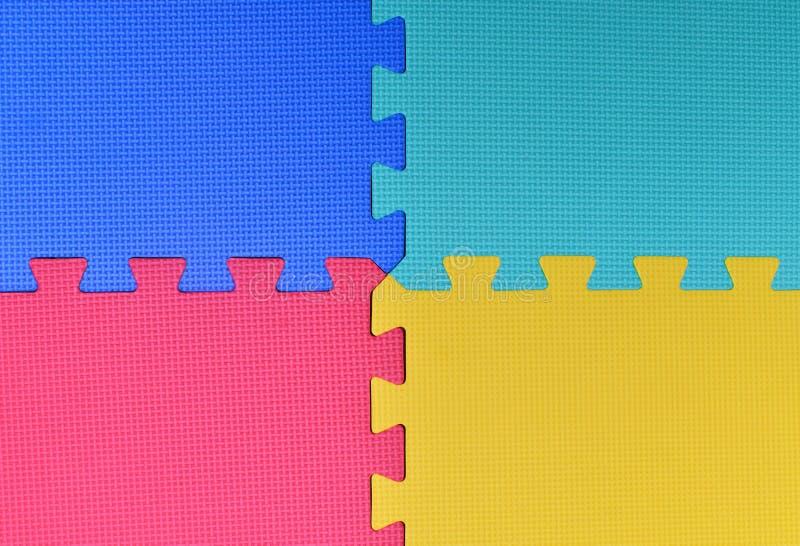 Kleurrijke Babymat stock foto