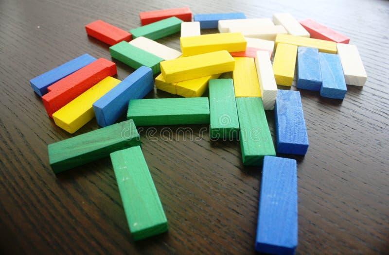 Kleurrijke Blokken royalty-vrije stock afbeeldingen