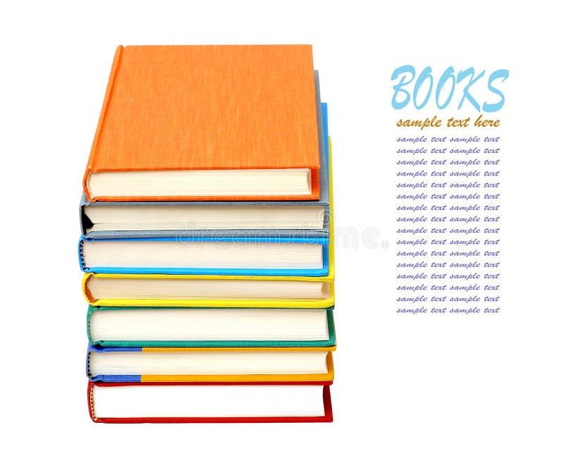 Download Kleurrijke boeken stock afbeelding. Afbeelding bestaande uit stapel - 29511541