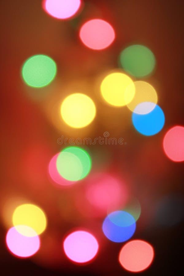 Kleurrijke bokeh royalty-vrije stock fotografie
