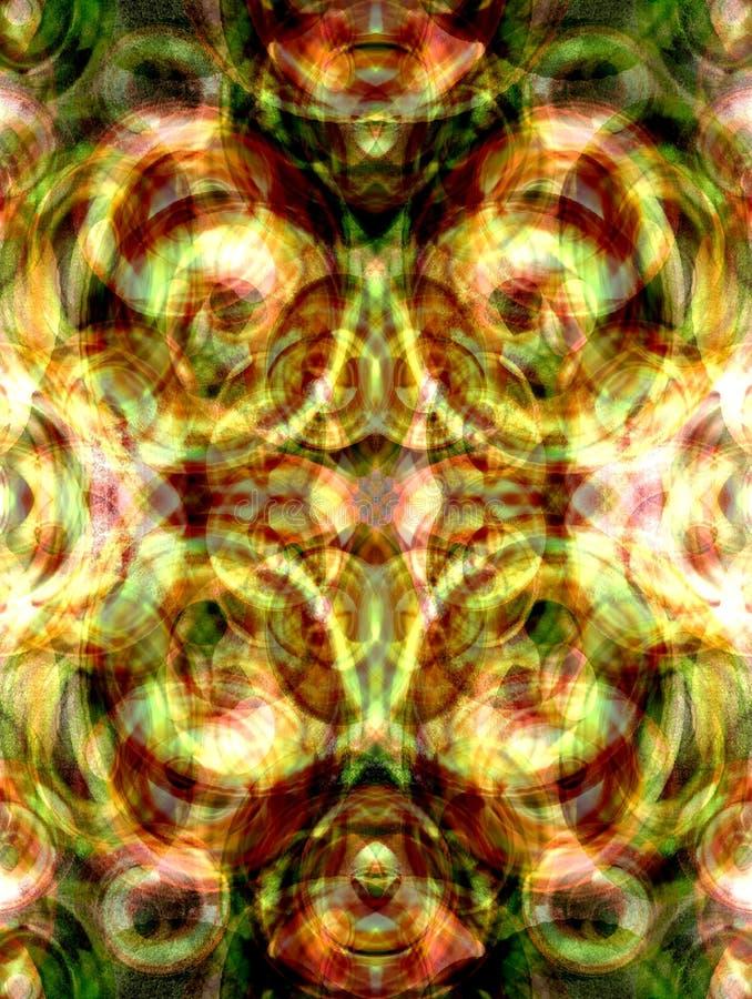 Kleurrijke caleidoscoop stock illustratie