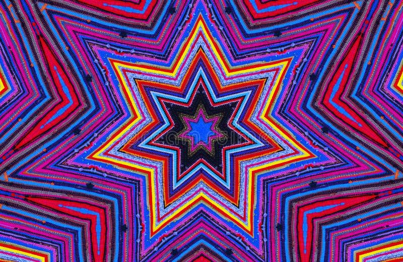 Kleurrijke Caleidoscoop royalty-vrije illustratie