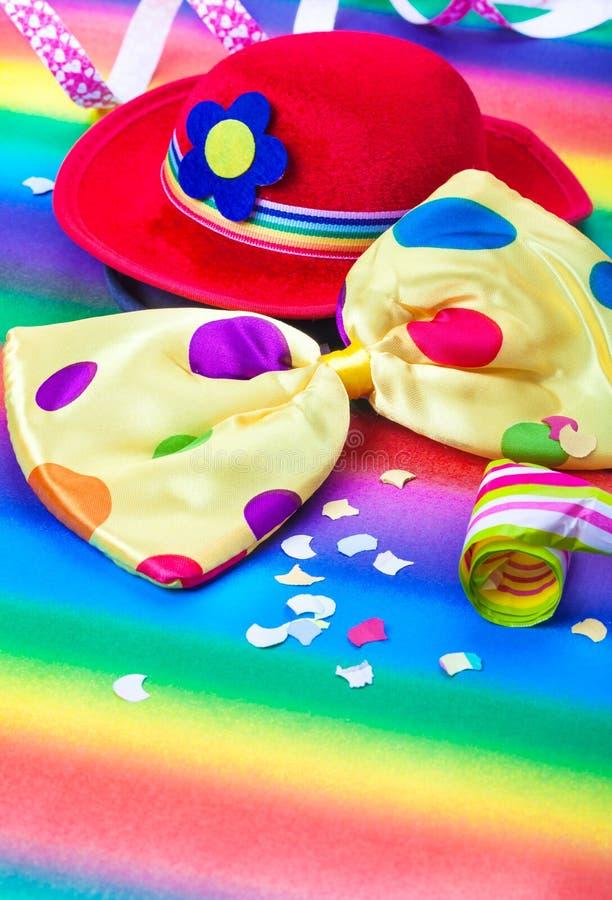 Kleurrijke Carnaval-Decoratie stock afbeelding