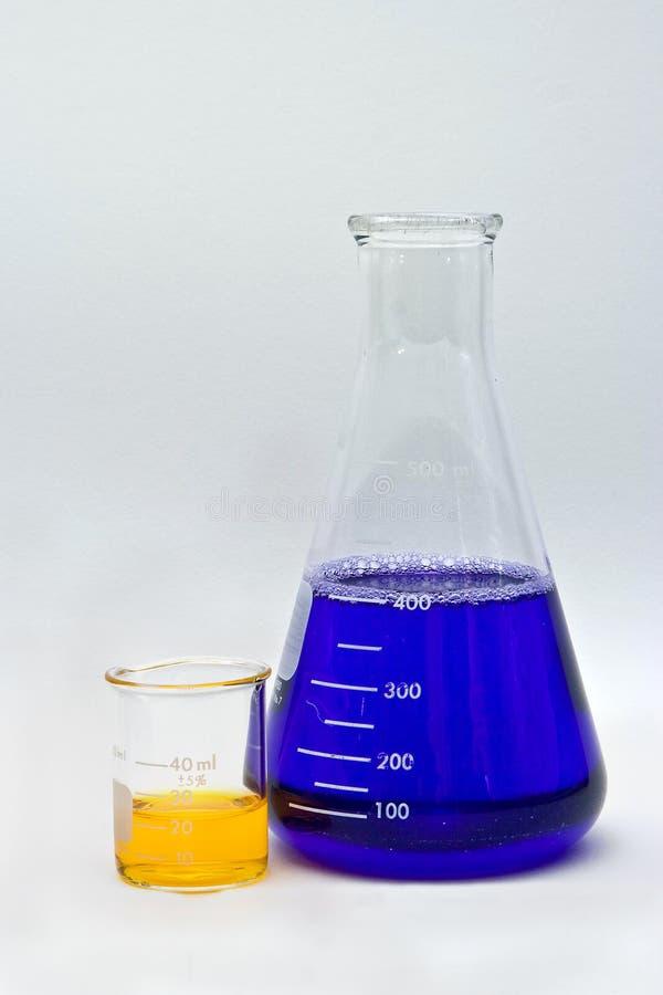Kleurrijke Chemie royalty-vrije stock foto