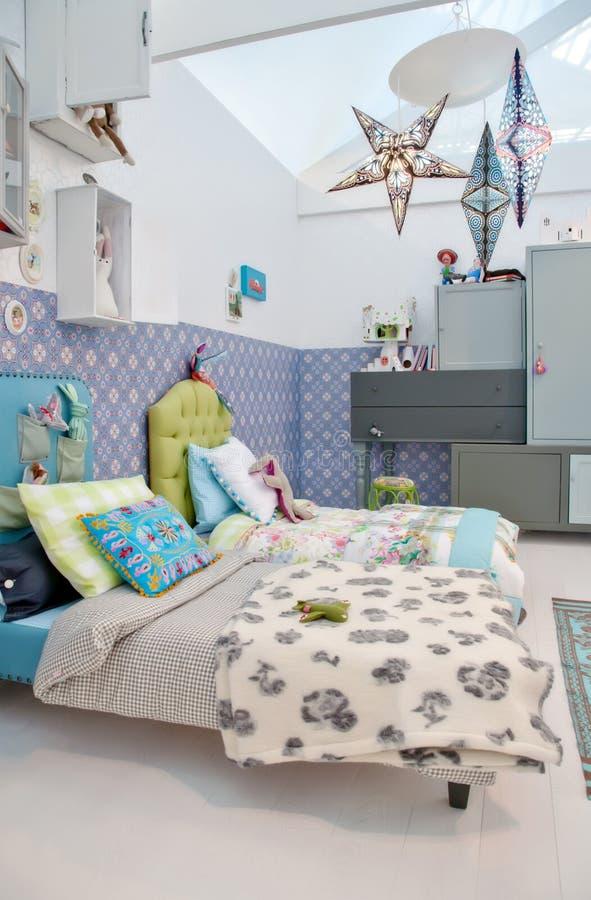 Kleurrijke childreruimte royalty-vrije stock foto's